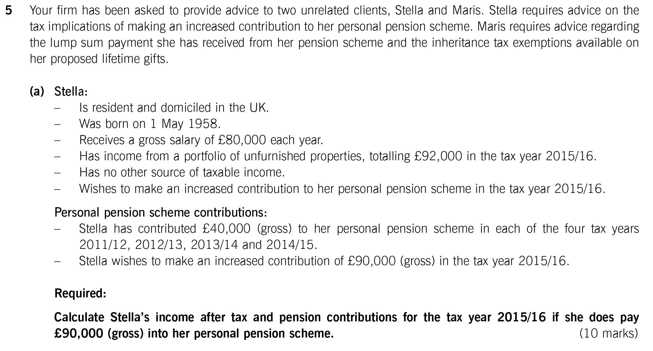 2012 / 2013 net salary calculator (gross to net pay).